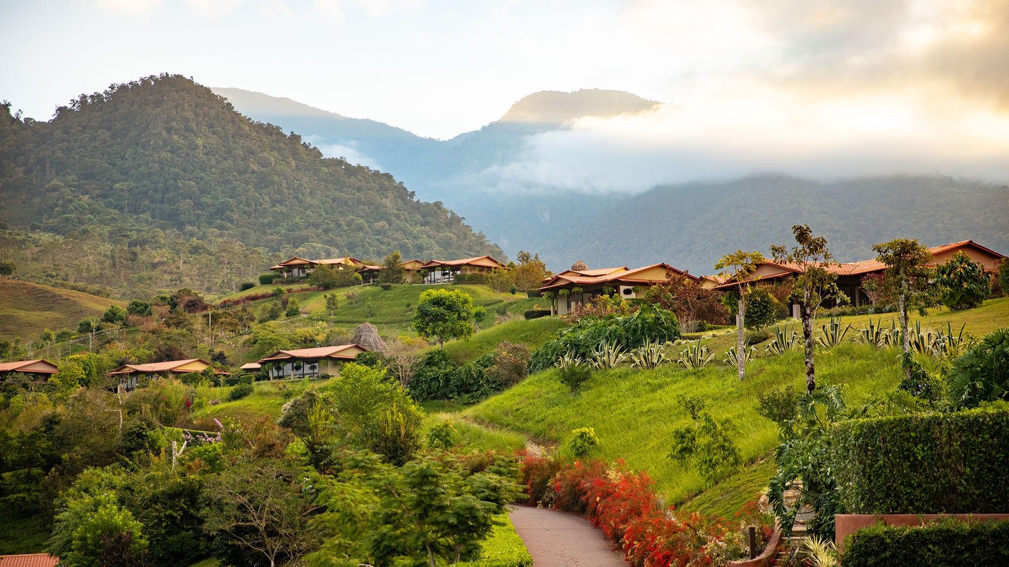 view of hacienda altagracia landscape