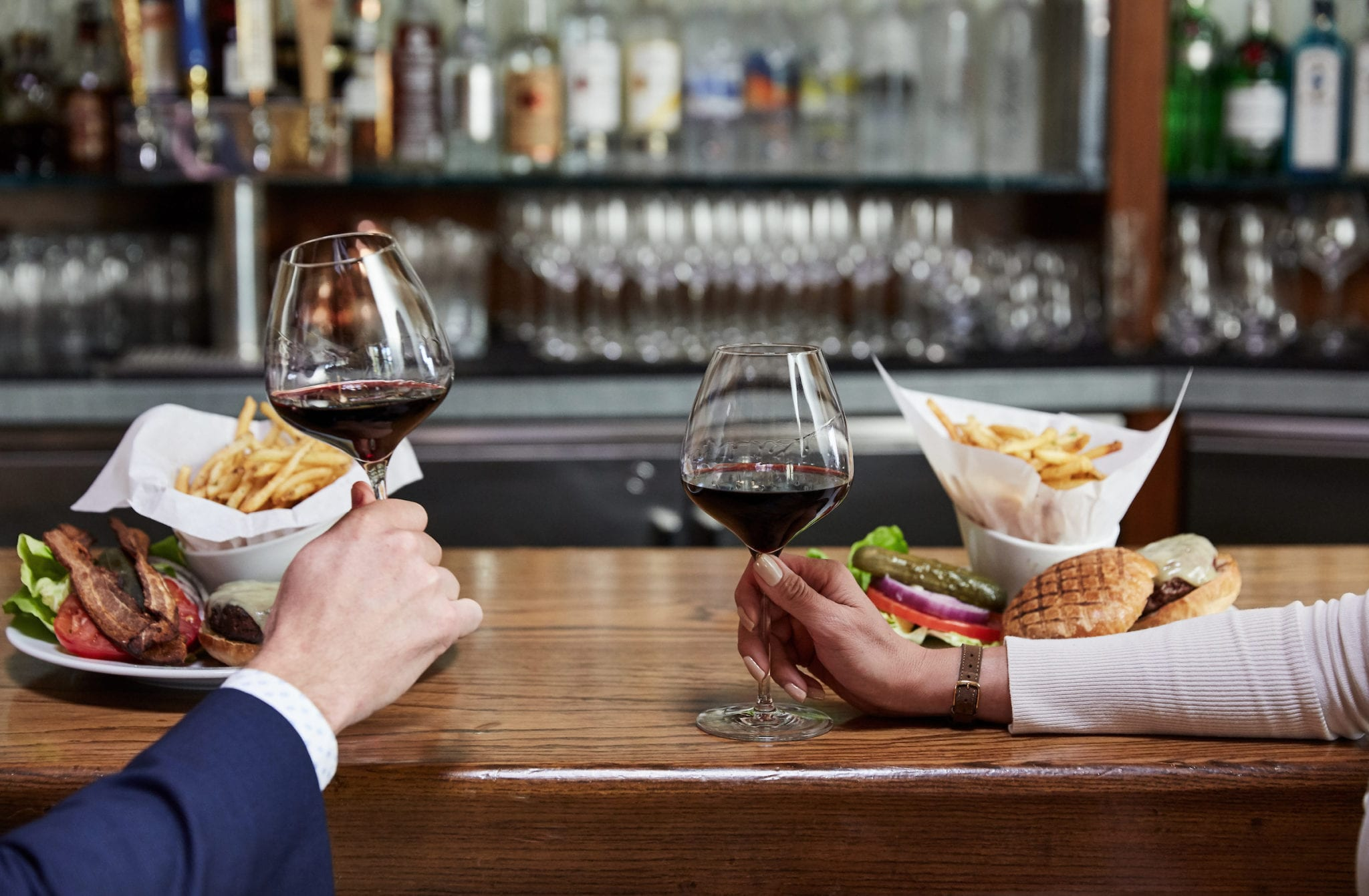 dining on bar