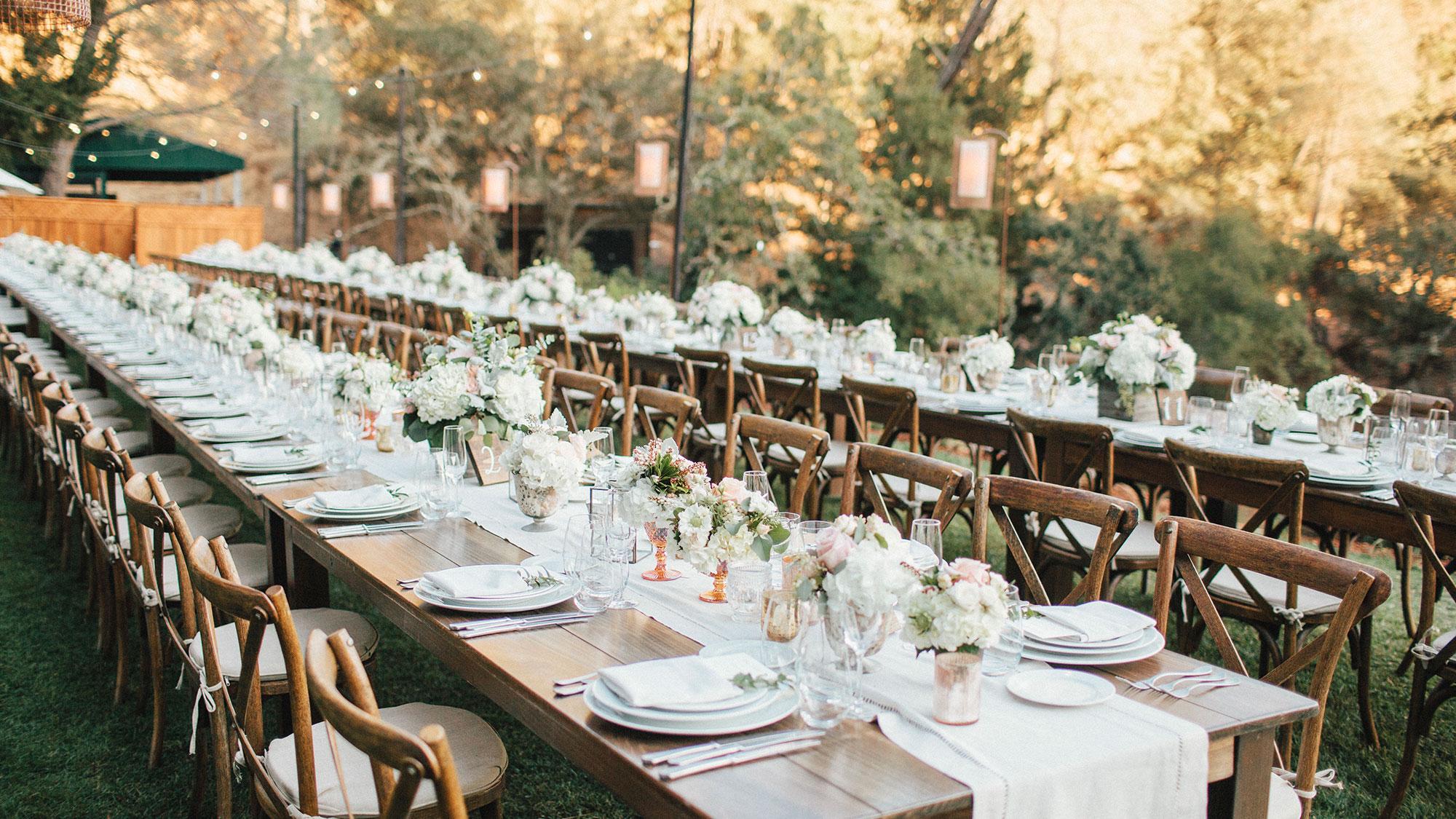 wedding long table
