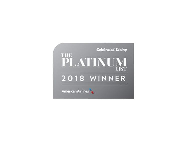 Platinum List Award 2018