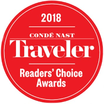 conde nast traveler award