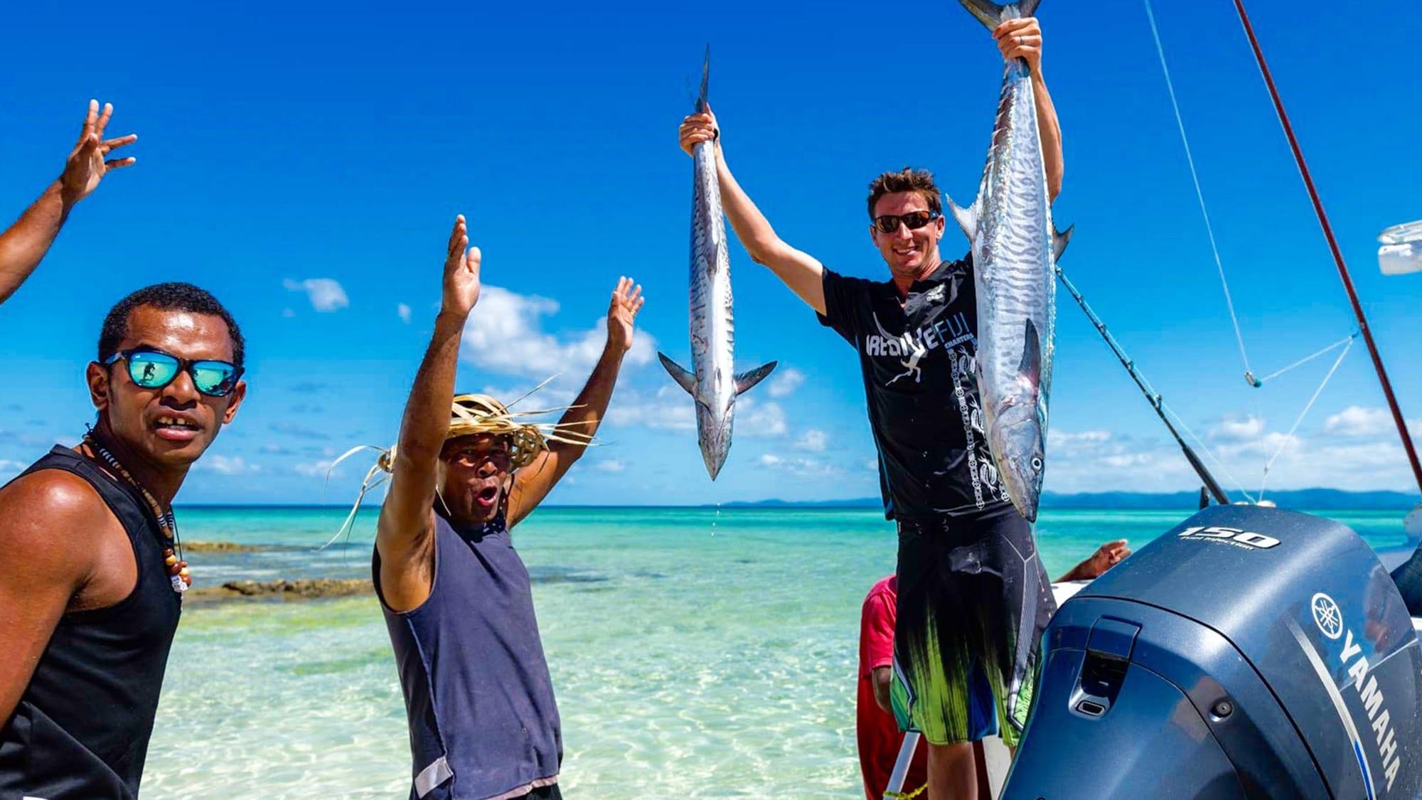 kayak reef fishing